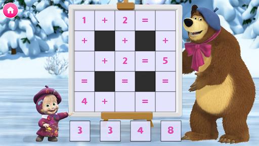 Masha and the Bear. Educational Games screenshot 15