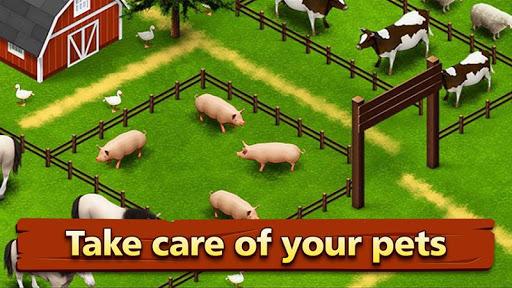 Farm Offline Games : Village Happy Farming screenshot 3