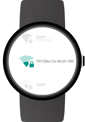 Wi-Fi Manager for Wear OS (Android Wear) screenshot 10