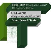 Faith Temple COGIC Abq, NM
