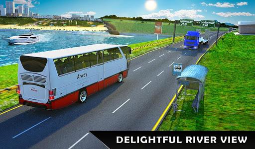 River Coach Bus Simulator Game screenshot 12