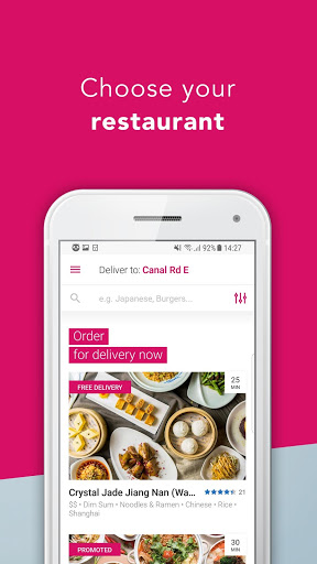 foodpanda - Local Food & Grocery Delivery 1 تصوير الشاشة