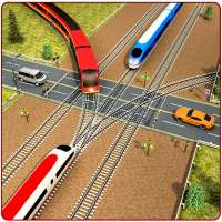Indian Train City Pro Driving : Train Game on 9Apps