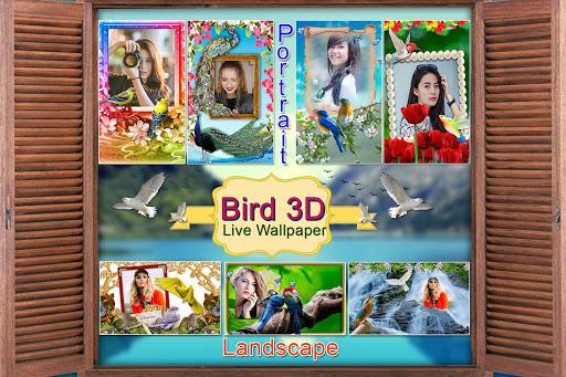 Birds 3D Live Wallpaper 10 تصوير الشاشة
