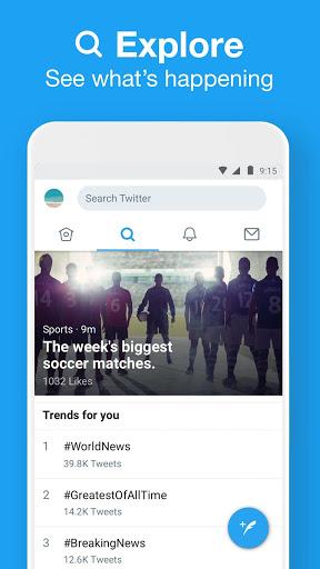 Twitter Lite screenshot 4