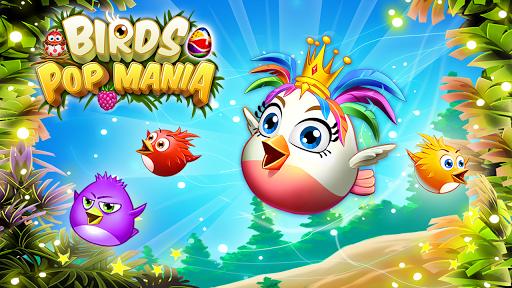 Birds Pop Mania: Match 3 Games Free 1 تصوير الشاشة