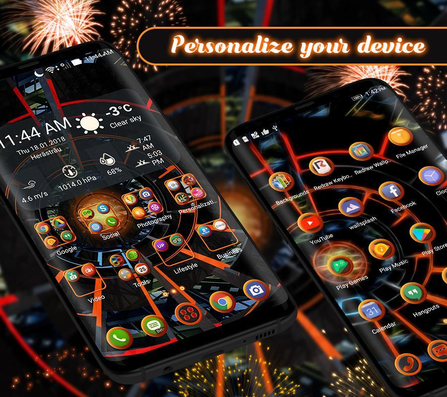 3D 2020 Theme For Android screenshot 2