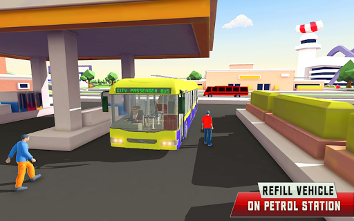 City Driving Coach Passenger Bus Simulator 3D screenshot 8