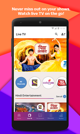 Tata Sky Mobile- Live TV, Movies, Sports, Recharge 3 تصوير الشاشة