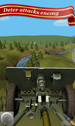 Artillery Guns Arena sniper Defend & Destroy Tanks 1 تصوير الشاشة