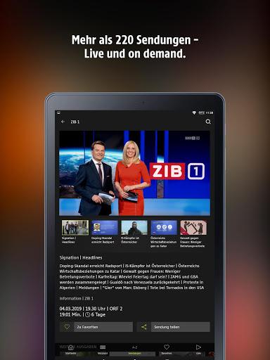 ORF TVthek: Video on demand screenshot 7