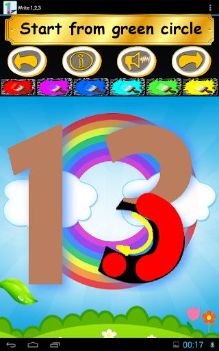 Write 123 - Learn Kids Numbers screenshot 22