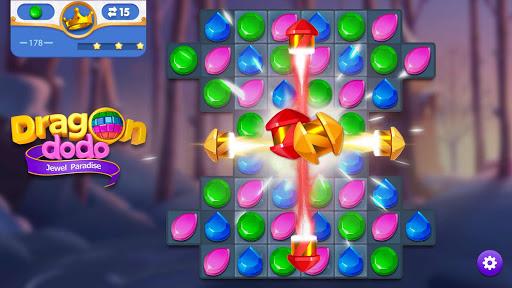 Dragondodo - Jewel Blast screenshot 6
