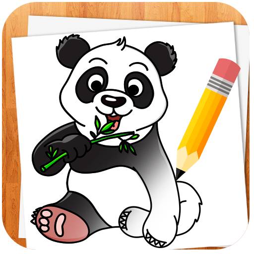 How to Draw Animals أيقونة
