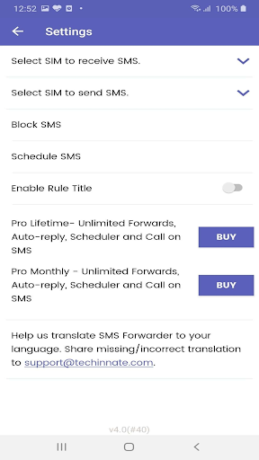 SMS Forwarder: Messaging and More screenshot 10