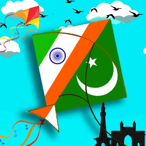 India Vs Pakistan Kite fly festival: Pipa basant icon