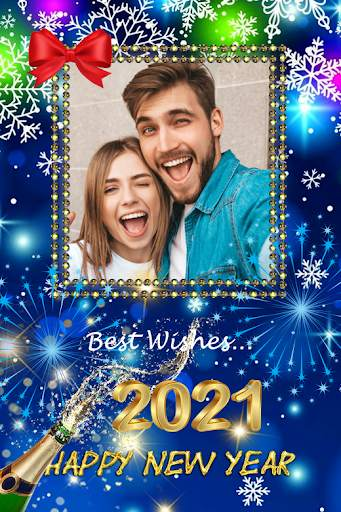 2021 New Year Photo Frames Greeting Wishes screenshot 5
