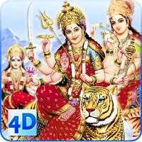 4D Maa Durga Live Wallpaper on 9Apps