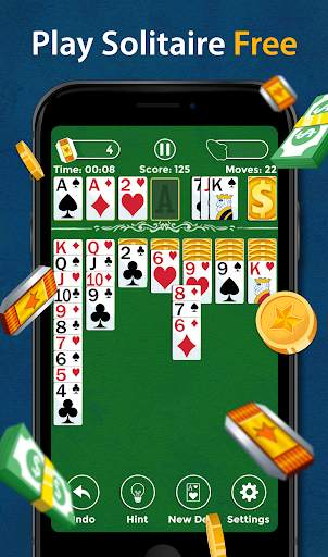 Solitaire - Make Free Money and Play the Card Game screenshot 1
