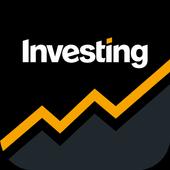 أسهم، عملات، سلع، أدوات: أخبار Investing.com أيقونة