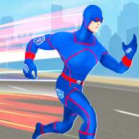 Grand Light Speed Robot Hero City Rescue Mission on 9Apps