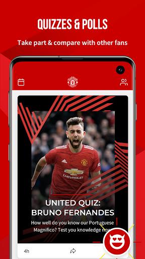 Manchester United Official App 4 تصوير الشاشة
