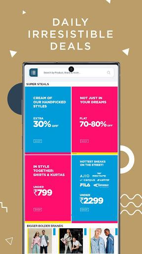 AJIO Online Shopping - Handpicked Curated Fashion 4 تصوير الشاشة