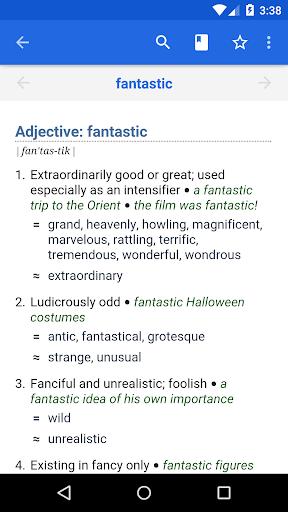 Dictionary - WordWeb स्क्रीनशॉट 1