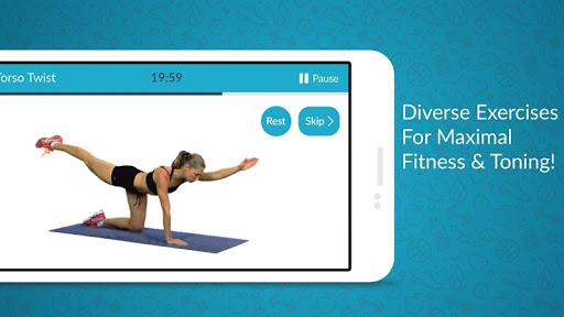 Women Workout: Home Gym & Cardio screenshot 2