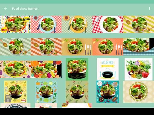 Food photo frames screenshot 16