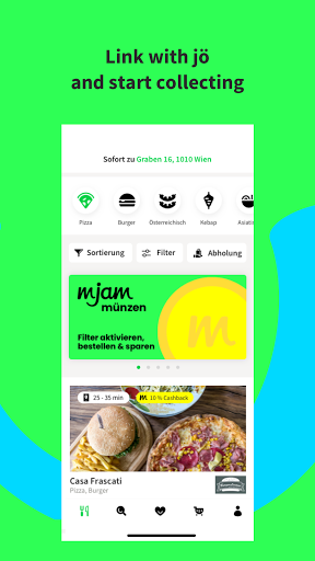mjam.at - Order Food Online screenshot 2
