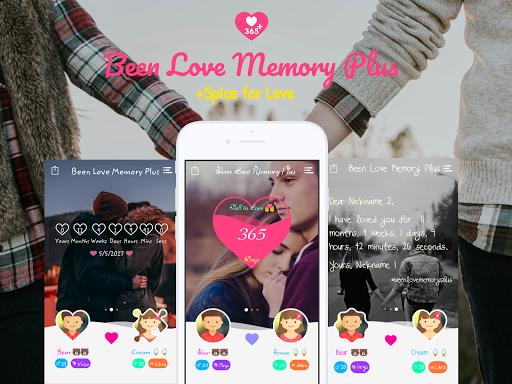 Been Love Memory Plus - Love Counter Plus 2020 screenshot 1