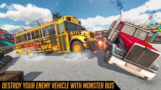 Monster Bus Derby : Bus Demolition Derby 2021 screenshot 1