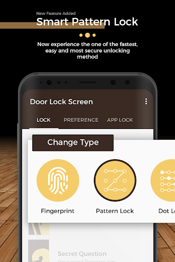 Door Lock Screen - Fingerprint & 4K Wallpapers screenshot 4
