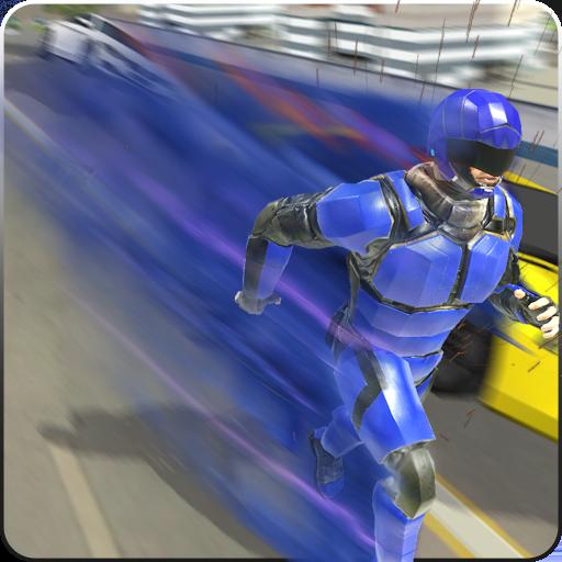 Super Light Speed Robot Superhero: Speed Hero أيقونة