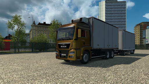 Euro Truck Drifting Simulator (Heavy Truck Driver) screenshot 2