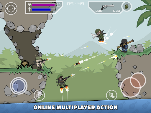 Mini Militia - Doodle Army 2 screenshot 8