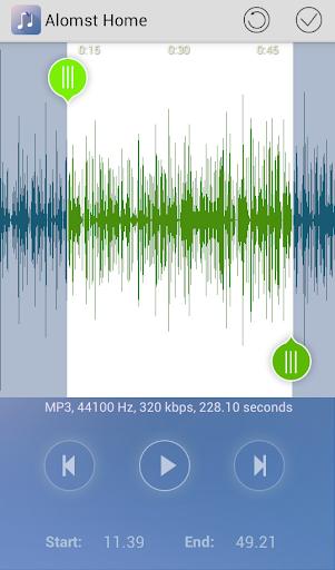 Ringdroid- Ringtone Maker MP3 Cutter Audio Cut screenshot 5