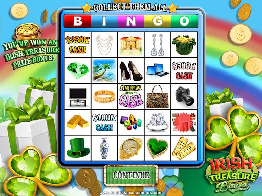 Irish Treasure Rainbow Bingo FREE screenshot 15