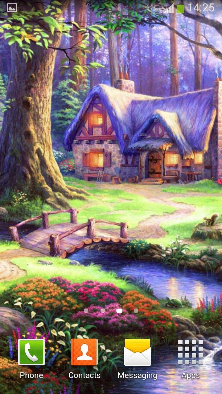 Fairy Tale Live Wallpaper screenshot 6