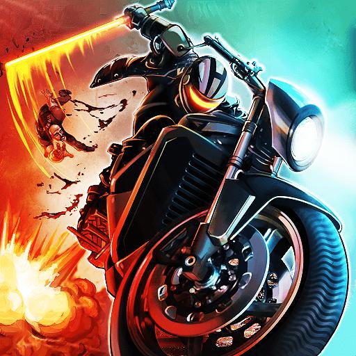ikon Bike Attack Race Highway Tricky Stunt Rider