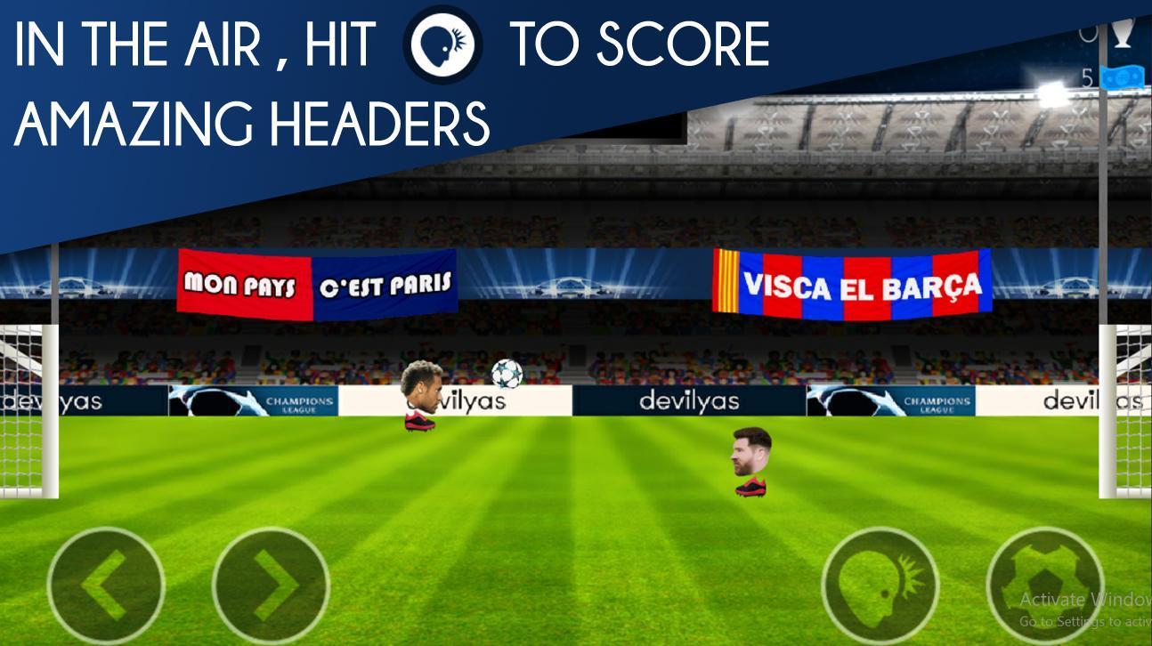 Head FootBall: Champions League 2018 3 تصوير الشاشة
