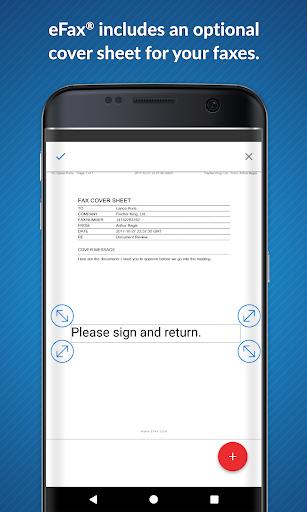 eFax: Send Fax from Phone (Official Fax App) 2 تصوير الشاشة