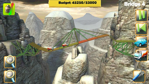 Bridge Constructor FREE 3 تصوير الشاشة