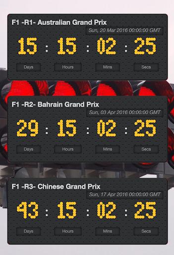 Motorsport Racing Calendar 2 تصوير الشاشة