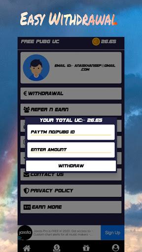 Pro Gamer - Free Uc, Diamonds & Earn Money screenshot 3