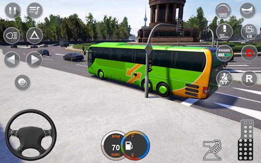 Impossible Bus Stunt Driving: Offraod Bus Driving screenshot 5