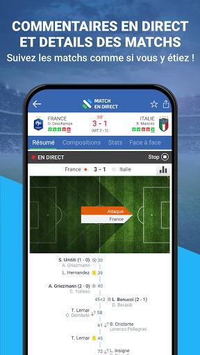 Match en Direct - Live Score 3 تصوير الشاشة