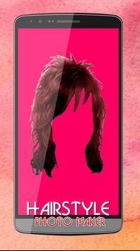 Women Hair Style Photo Editor screenshot 6