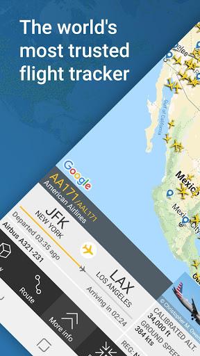 Flightradar24 Flight Tracker 1 تصوير الشاشة